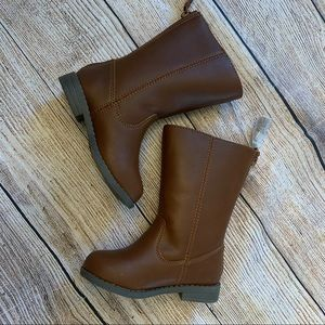 Cat & Jack Riding Boots Brown